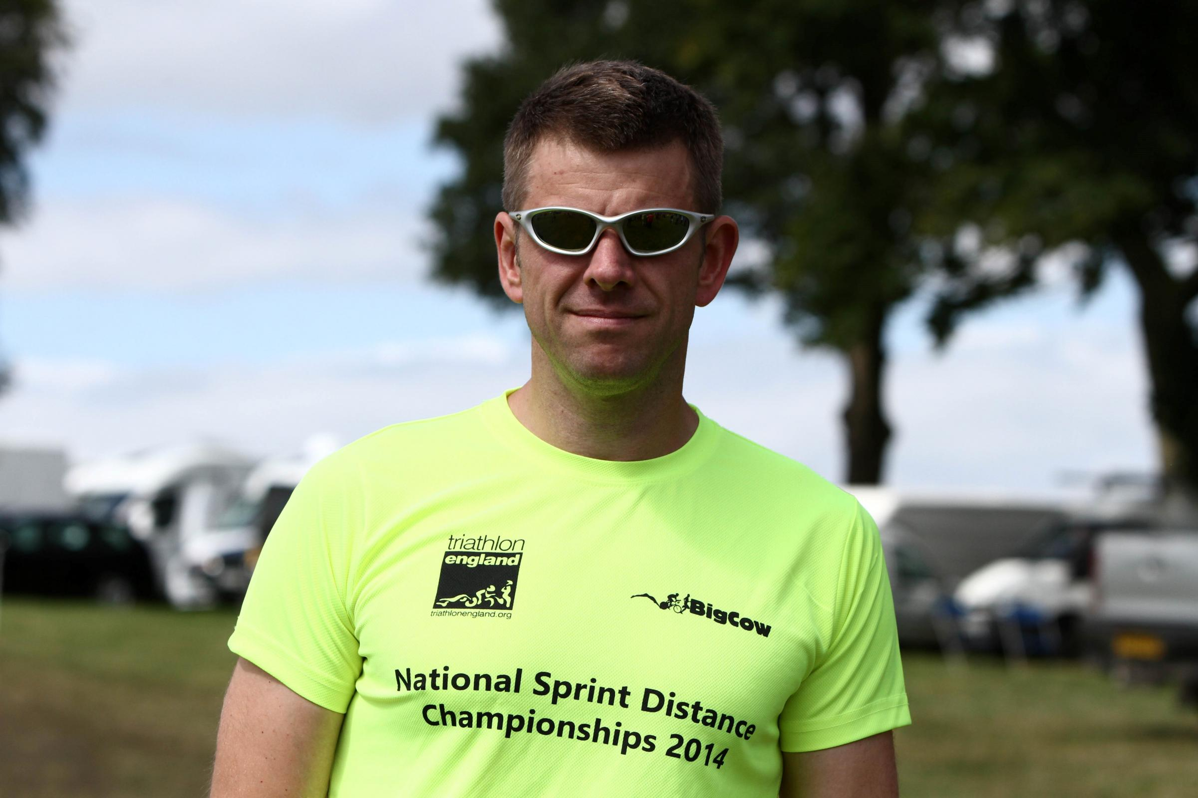 Police detective represents UK at international triathlon contest