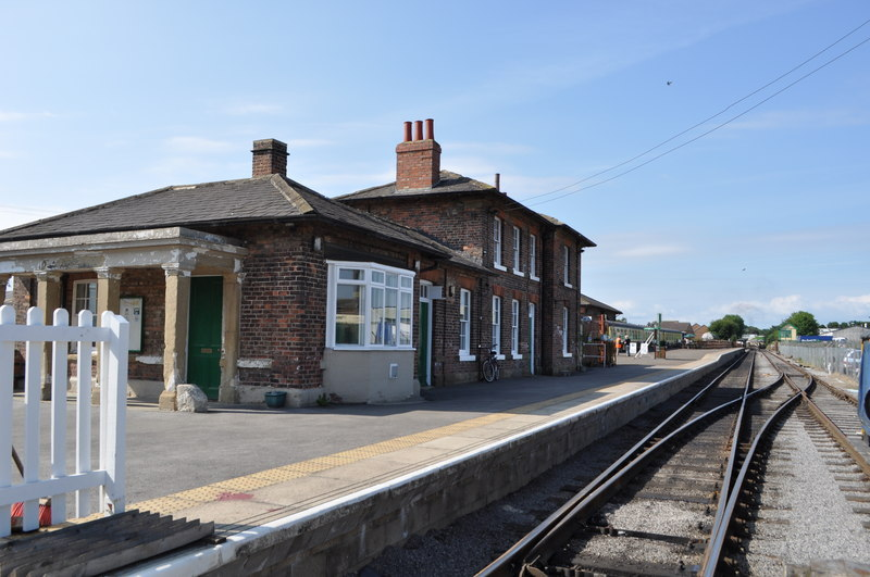 CARRIAGE PLAN: Leeming Bar is home to the Wensleydale Railway.