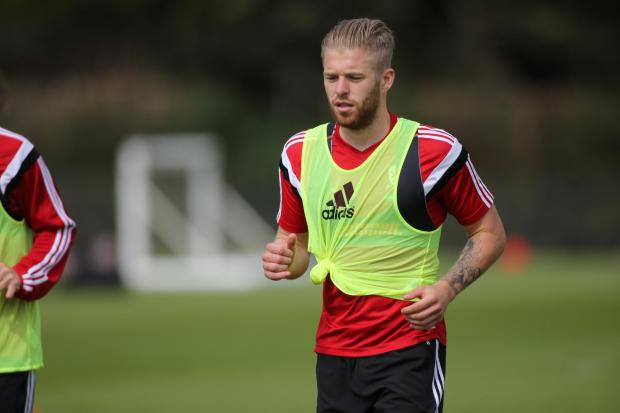 HAPPY: Adam Clayton admits Middlesbrough's narrow win will give the squad a boost
