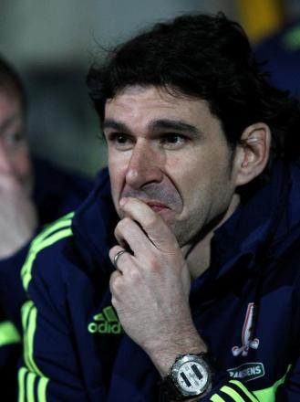 Busy: Aitor Karanka's transfer dealings are not complete yet