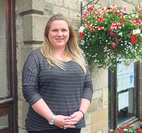 OPTIMISTIC AND OUTGOING: Lynn Irwin of the Central Dales GP Practice