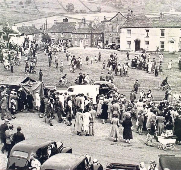 AS WE WERE: The Bartle Fair on Reeth Green in Swaledale in 1951