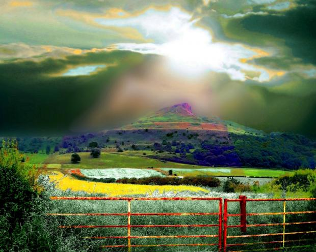 ROSEBERRY TOPPING: One of Máire McSorley's artworks going on display in Middlesbrough