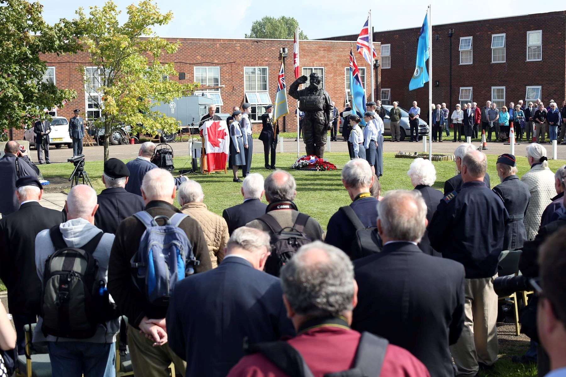 Historic Lancaster's visit is a time for reflection and celebration