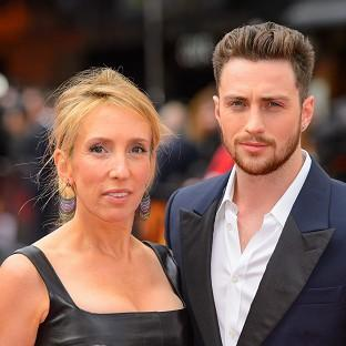 Sam Taylor-Johnson was left red-faced after police were called to her home when a passer-by spotted a machine