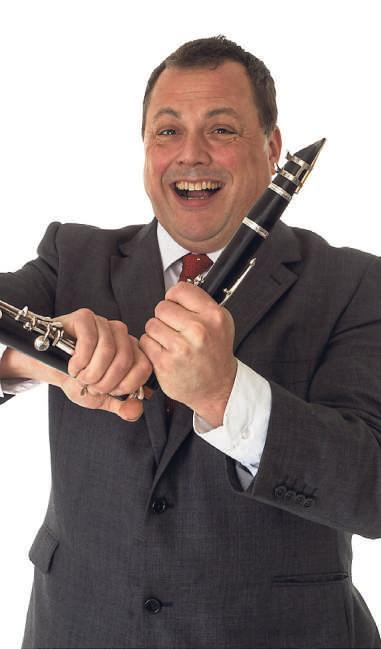 RIPON DATE: Dazzling clarinettist Pete Long, of the Jazz Repertory Company