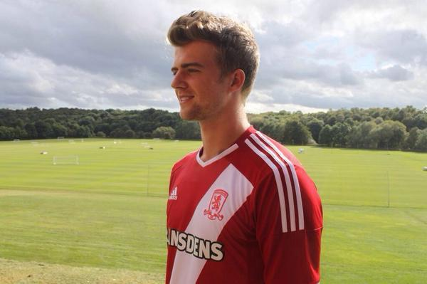 Middlesbrough finally sign Chelsea striker Patrick Bamford on loan (Picture courtesy of Middlesbrough FC)