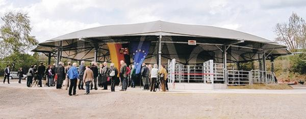 OFFICIAL OPENING: the Roundhouse Vulcan Eifel, in Germany