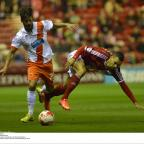 Darlington and Stockton Times: FALLING FLAT: Middlesbrough's players underperformed as they drew with Blackpool on Tuesday night