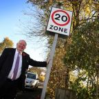 Darlington and Stockton Times: SPEED LIMIT: Councillor Dennis Southwell is backing a campaign to introduce 20-miles per hour speed limits across County Durham. Picture: TOM BANKS (12113181)