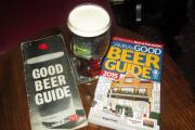 MINE'S A PINT: The first Good Beer Guide, published in 1974, and the 2015 edition