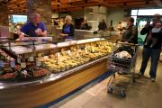 The deli counter from Venice is the only one of its kind in the North of England.        Picture: ANDY LAMB  (12504693)
