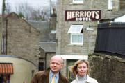 It is April 2001 and  William Hague MP is promoting the government's message that foot and mouth has not closed to countryside. See FROM OUR ARCHIVE below.
