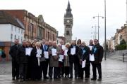 POLITICS: Darlington Conservative Party members launch their local election manifesto