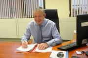 STANDING DOWN: Chief executive of Hartlepool Borough Council Dave Stubbs