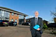 Craig Knowles, of Southdale, at Parsons Court on the Aycliffe Business Park in Newton Aycliffe, where Southdale has its new offices