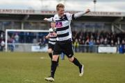 GOAL HERO: Adam Mitchell scored twice today. Picture: TIM HICKMAN