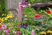 A colourful garden can make a big impression on would-be house buyers
