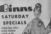 Advertisements from the D&S Times of 50 years ago