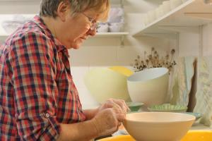 Tide turns for ceramic artist inspired by sea and shore