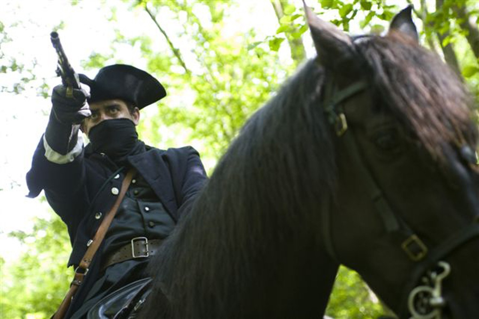 It is said some travellers carried spare cash to hand to any highwayman who ambushed their coach