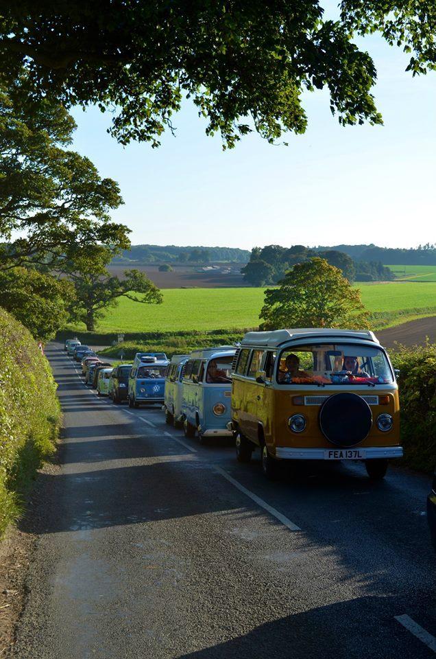 FESTIVAL: VW Camper Vans