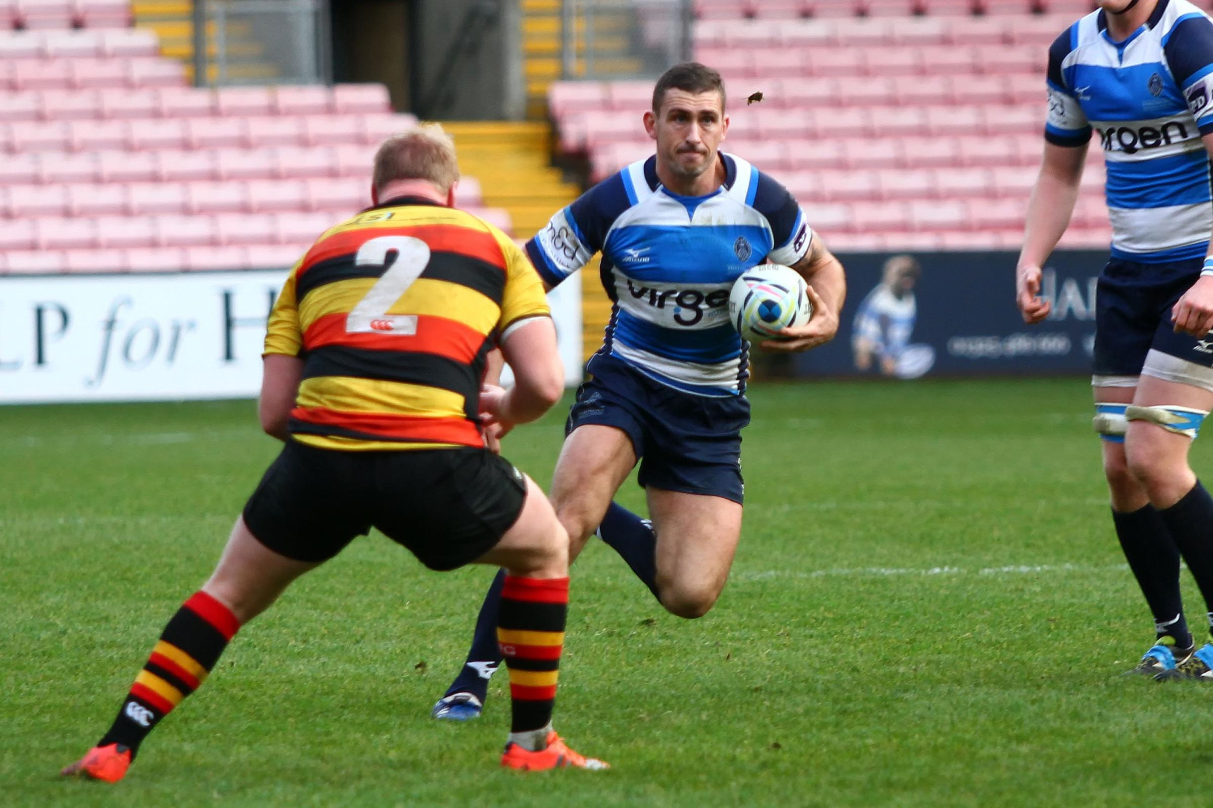 Garry Law of Darlington Mowden Park