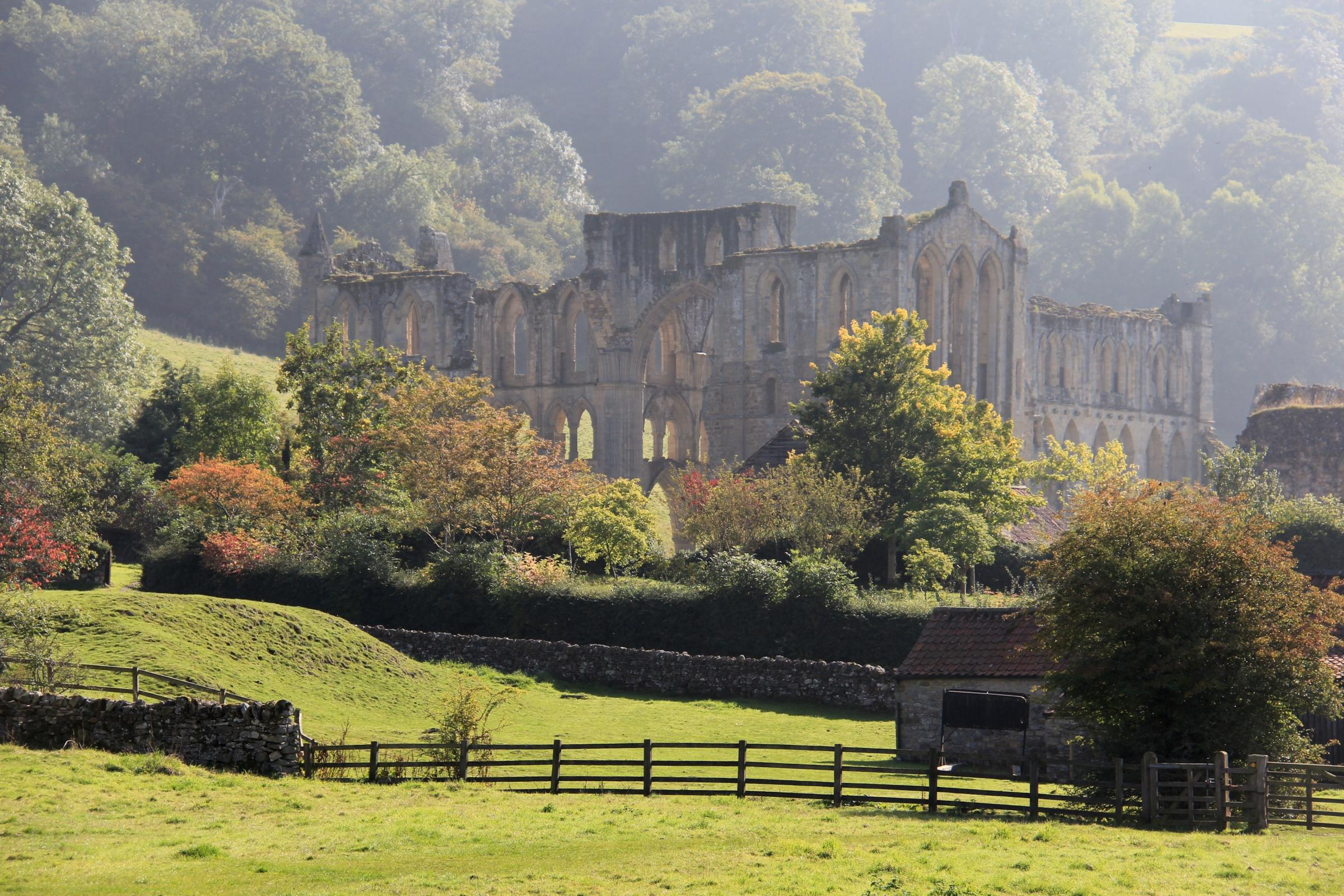 Rievaulx Abbey, standing magnificently on the banks of the Rye. Picture: Bob Adams