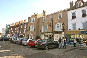 SURVEY: The cobbled Market Place in Thirsk, which has been named as one of the country's 'hidden gems'