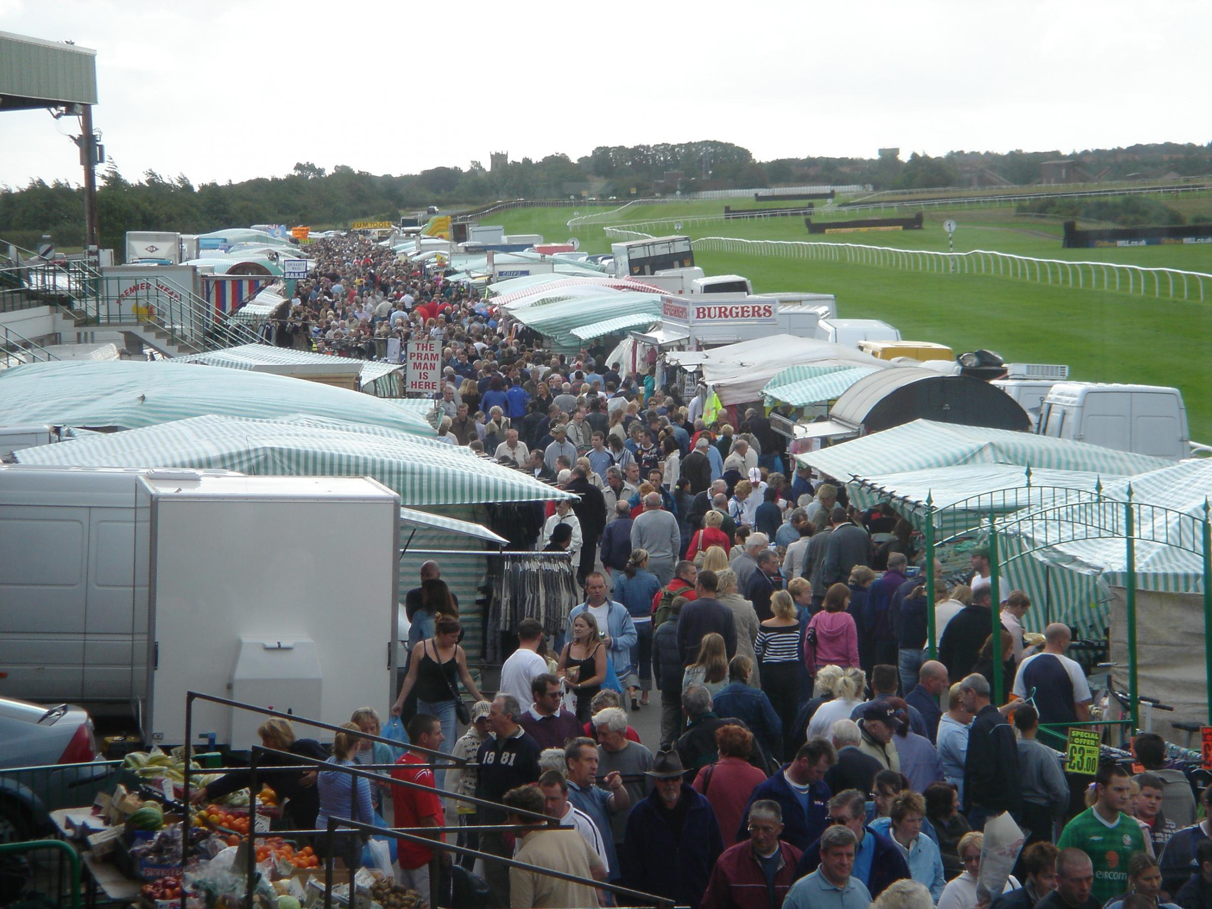 Catterick Sunday Market is struggling but will continue