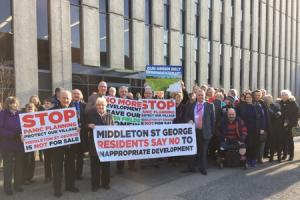 Contentious Middleton St George planning meeting to be held this week, hundreds expected to attend