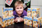 CORNFLOUR: 6 year old George Morrison has a very rare disease and needs regular doses of cornflour to survive. The pharmacies have now started dispensing an alternative in its place  the alternative is not tested on children under 8 so his parents are hav