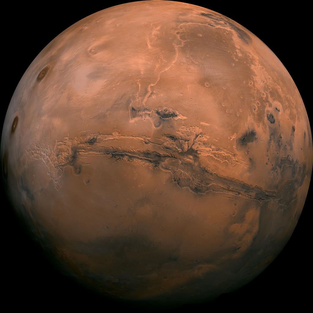 Mars. Picture courtesy of NASA