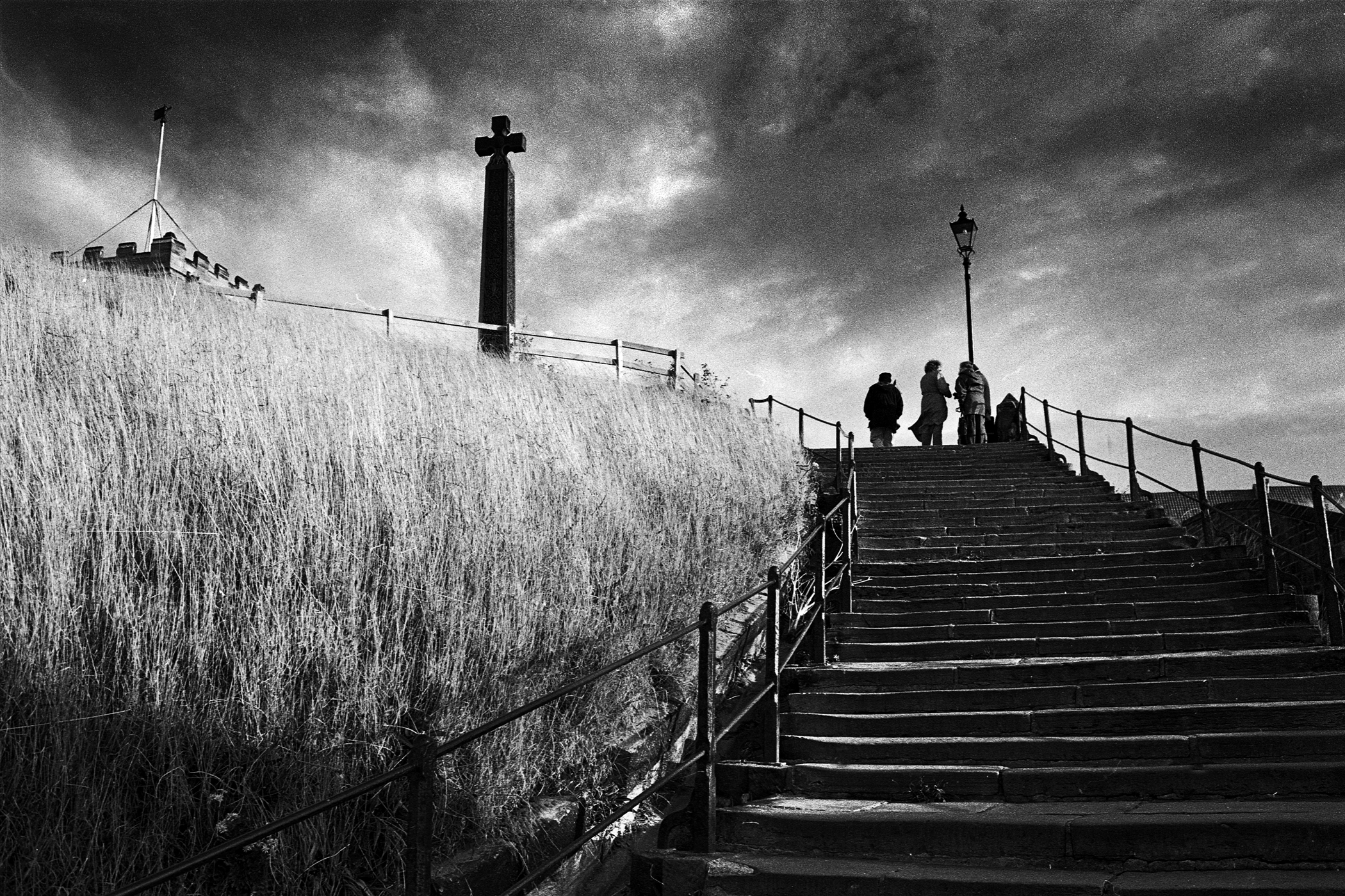 Whitby's famous steps were once put up for sale - as an April Fools Day prank