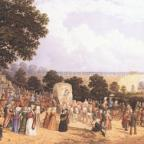 Darlington and Stockton Times: Historical moment: John Dobbin's watercolour of Locomot