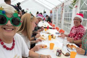 Midsummer Christmas dinner for communities ravaged by floods in December