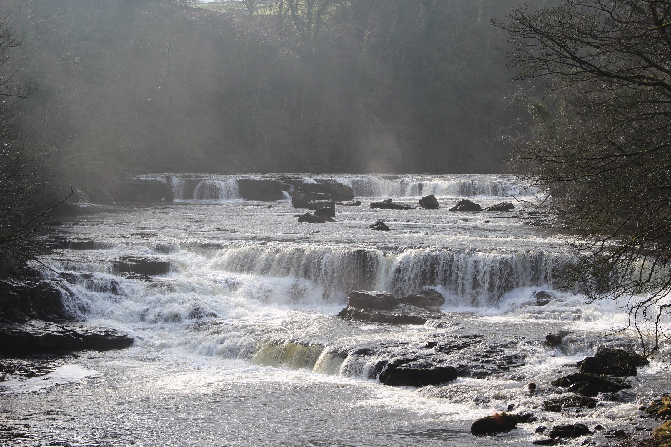 Falls on the River Ure