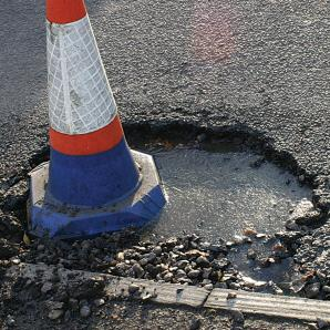I will fix all potholes in UK for 6 billion saving the country 4. Half up front & half on completion. Deal?