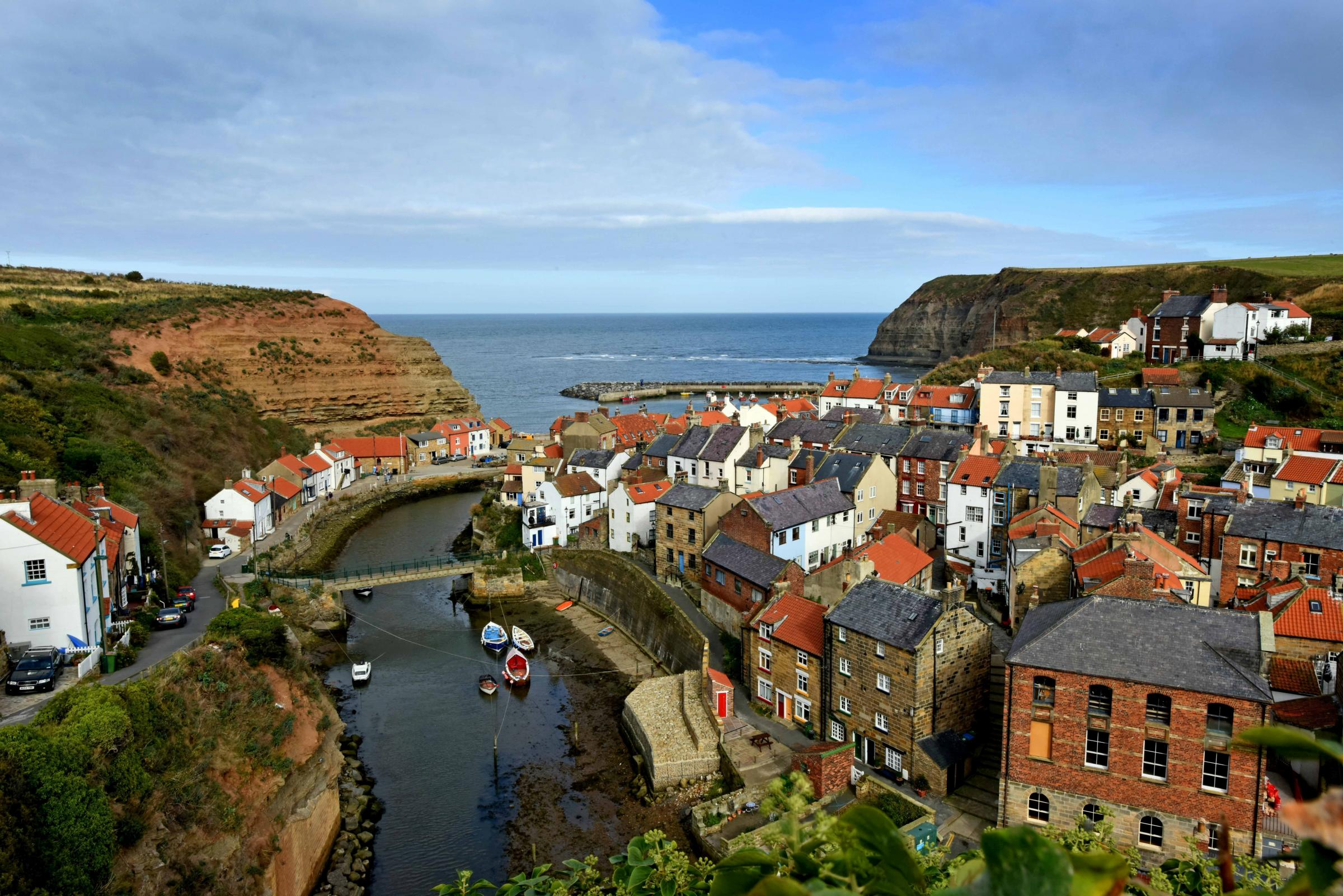 The fishing town of Staithes. Picture: Anthony Chappel-Ross