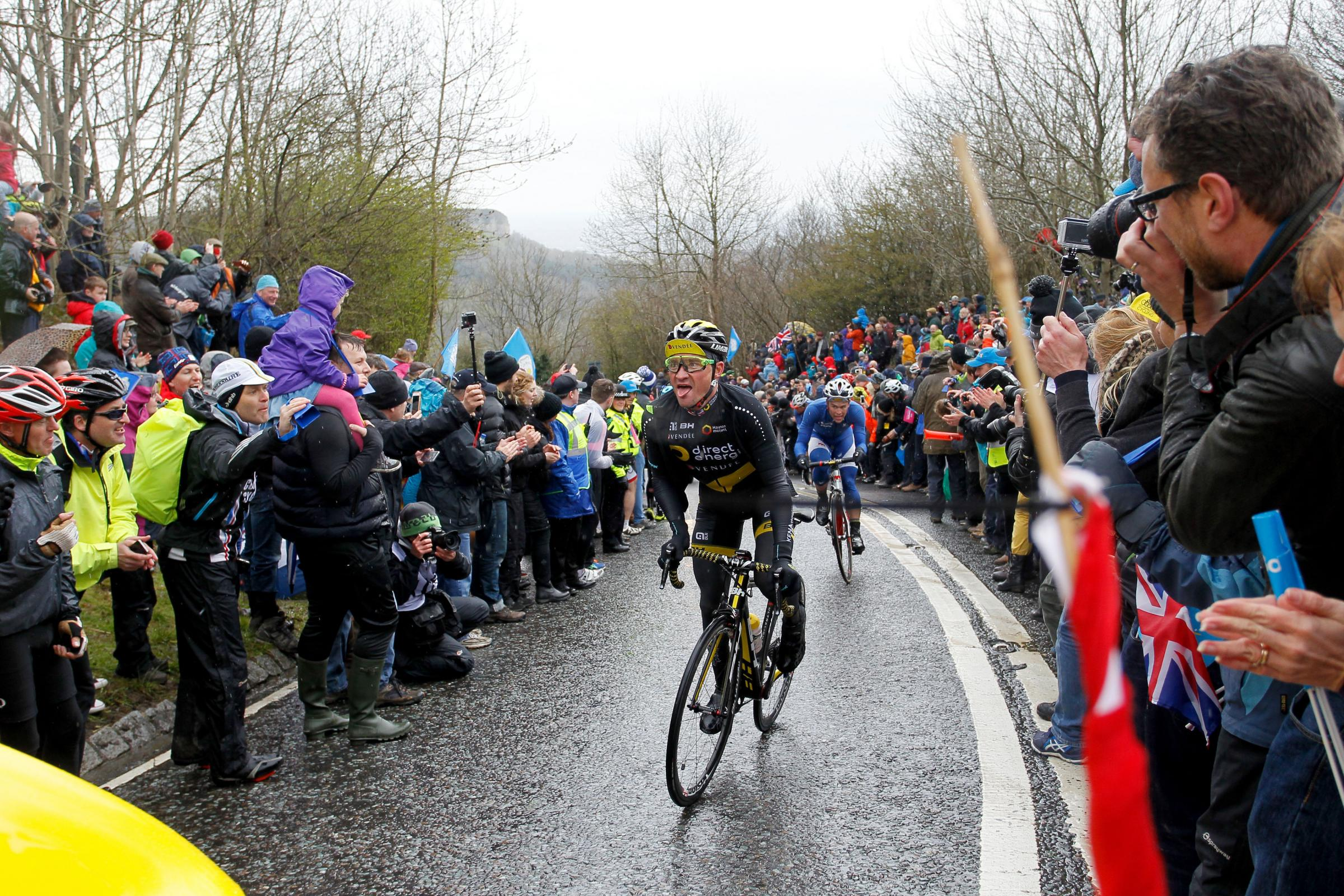 I would never refer to the famous Sutton Bank, pictured here during the Tour de Yorkshire, as Sutton Hill. Picture: Richard Sellers/PA Wire