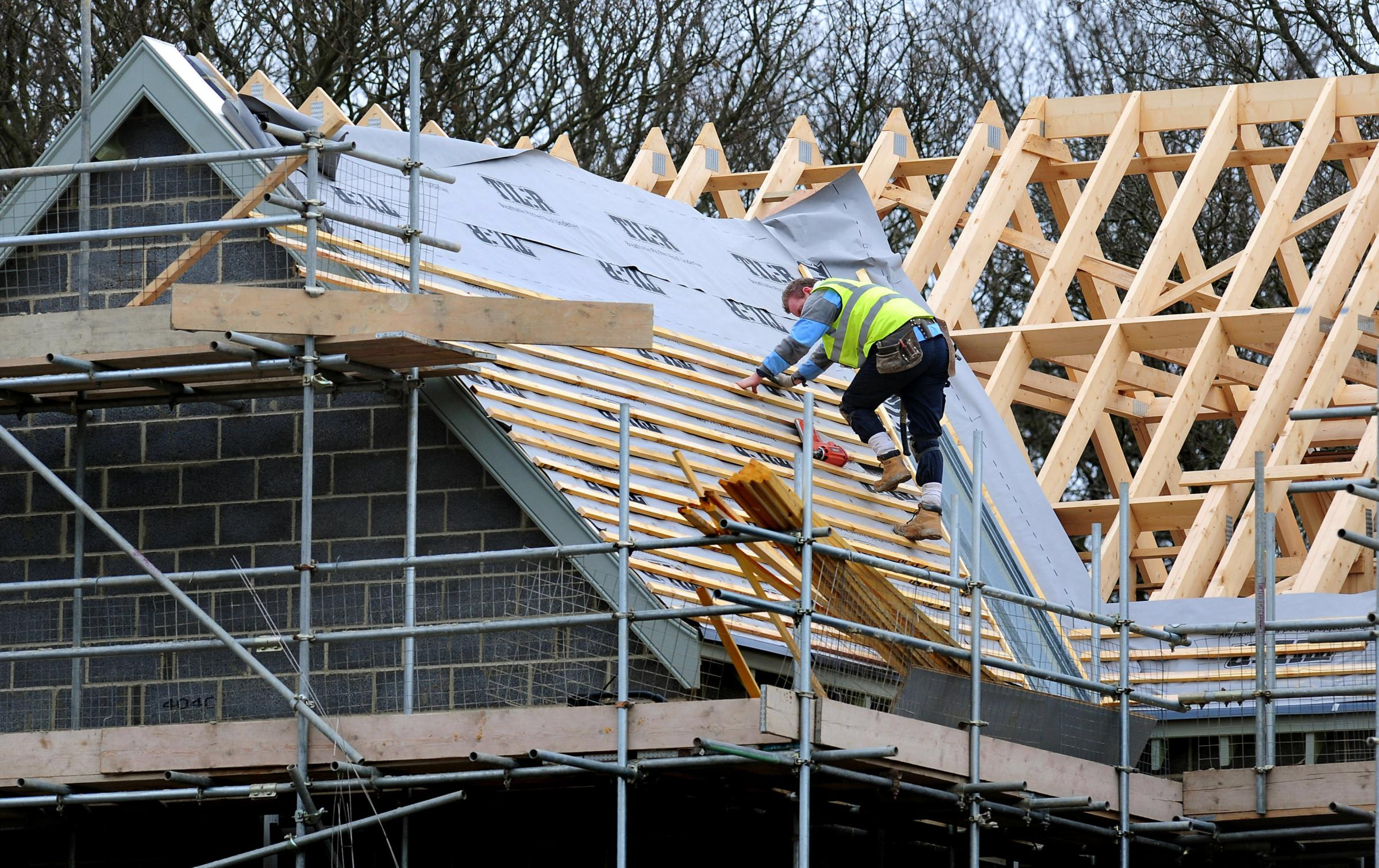 CONSTRUCTION: Hundreds of new homes are being built across Hambleton and South Tees. Picture: Rui Vieira/PA Wire