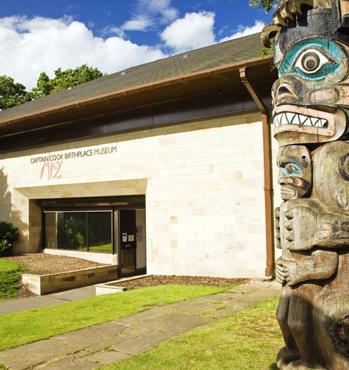 MUSEUM: The Captain Cook Birthplace Museum in Middlesbrough.