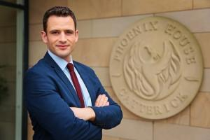 CHARITY: David McNeill, new manager of recovery north for Help for Heroes at Phoenix House
