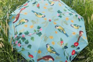 The flora and fauna umbrella, available from burgonandball.com
