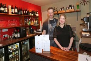 Richard and Lindsey Johns of Rascills restaurant at Raskelf. Picture: Richard Doughty Photography