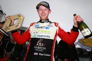 POLE POSITION: Max Coates enjoyed a strong weekend at Donington Park
