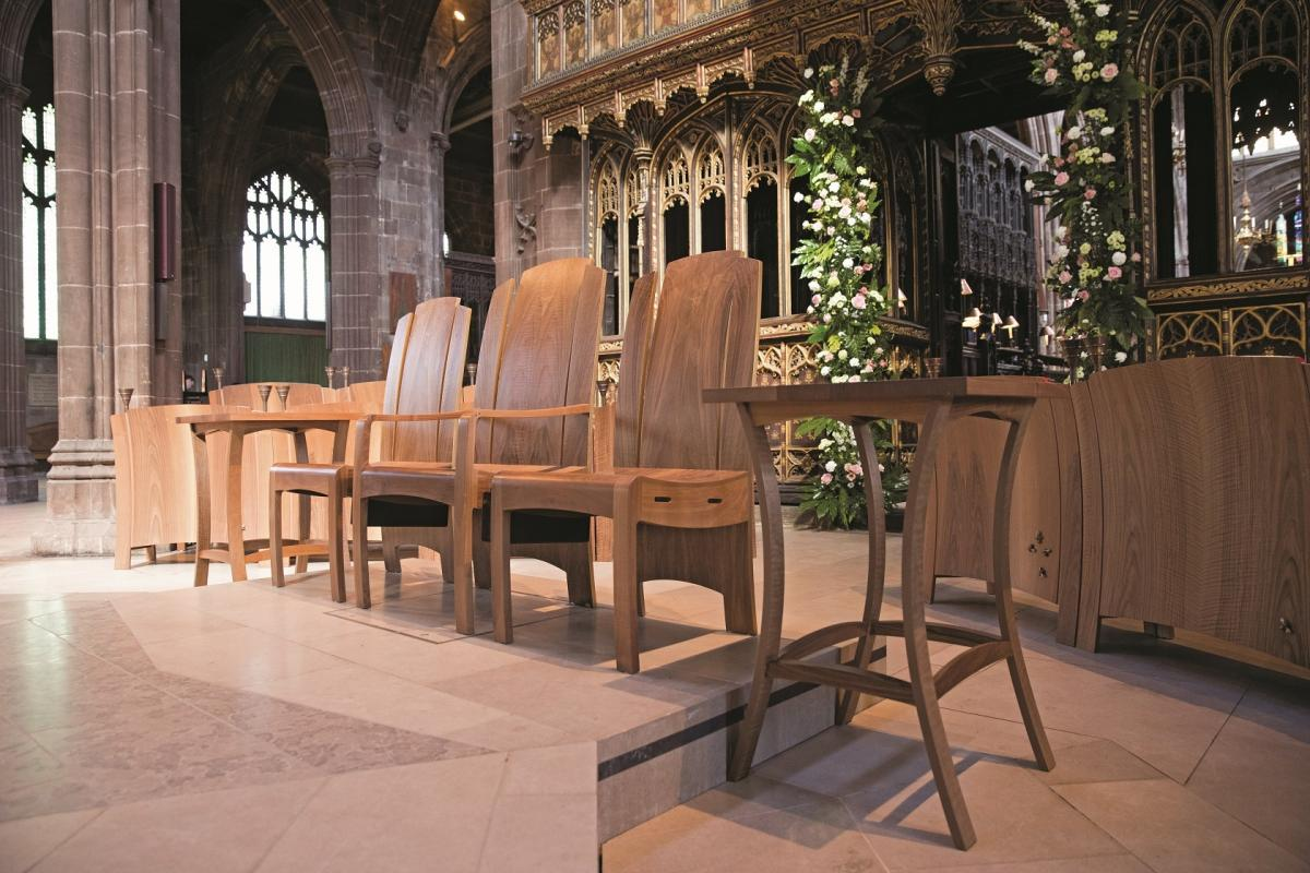 furniture specialist treske completes stunning design for manchester cathedral. Resume Example. Resume CV Cover Letter