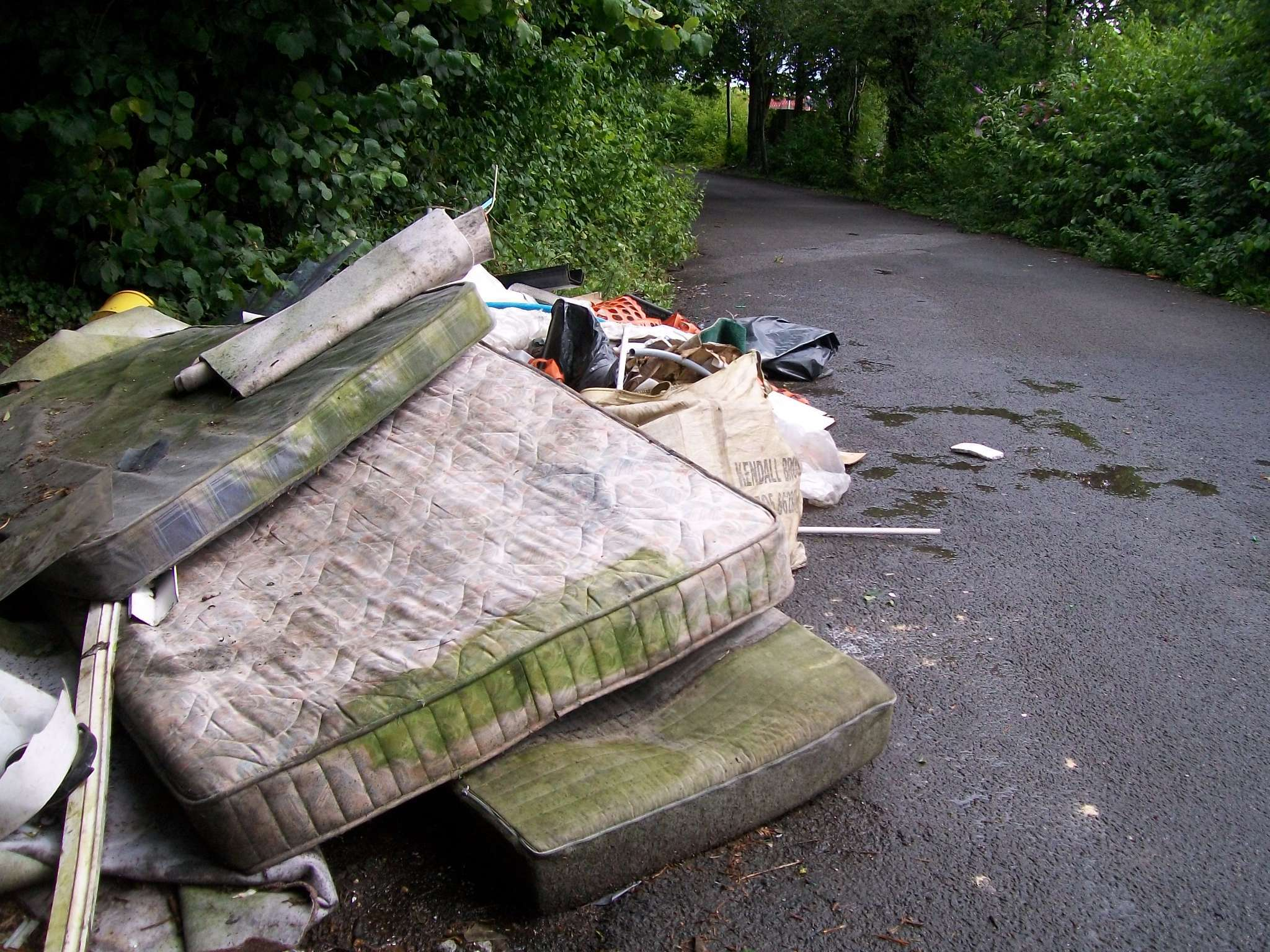 Fly-tipping is becoming an increasing problem