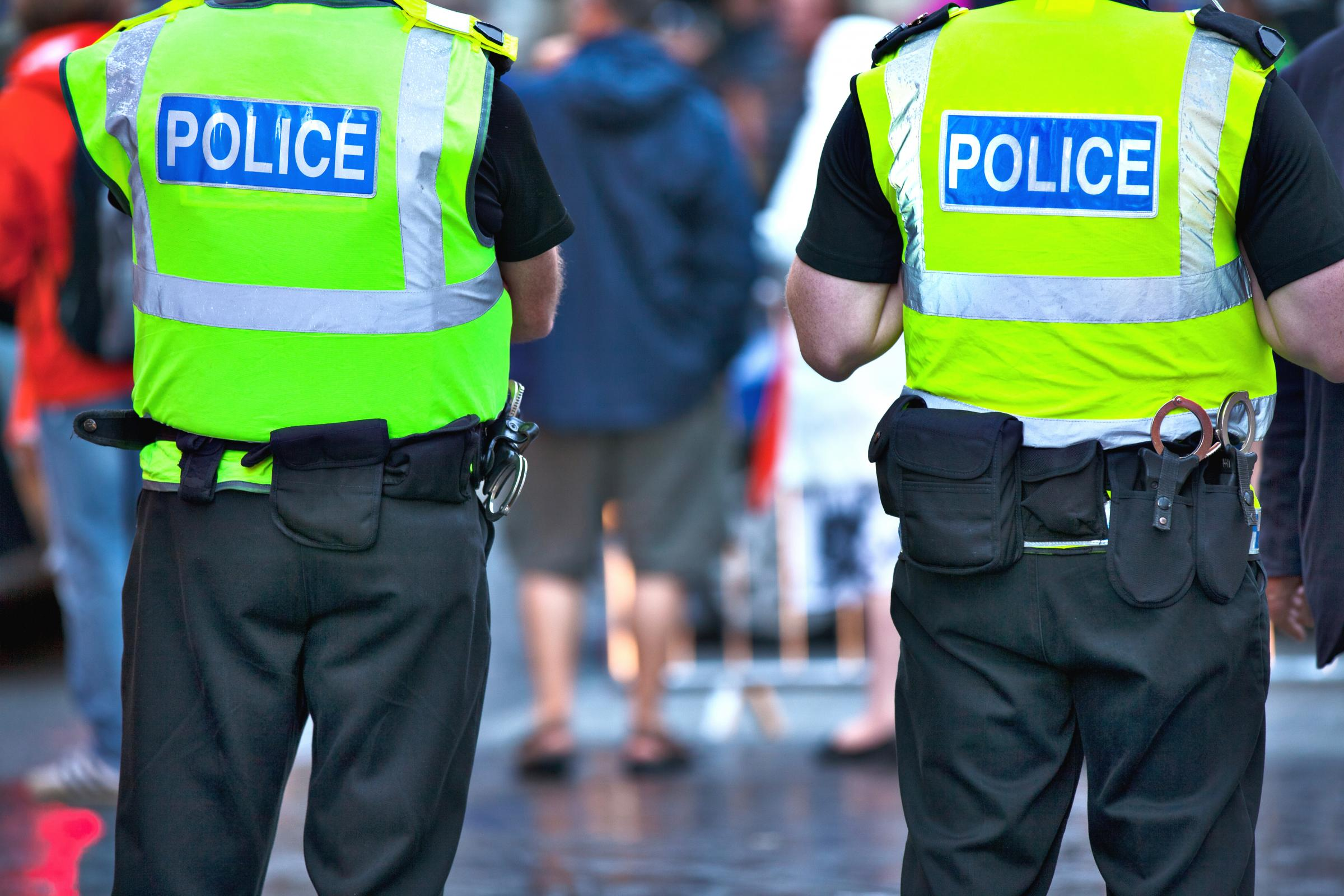 POLICE: The number of officers assaulted over the festive period revealed
