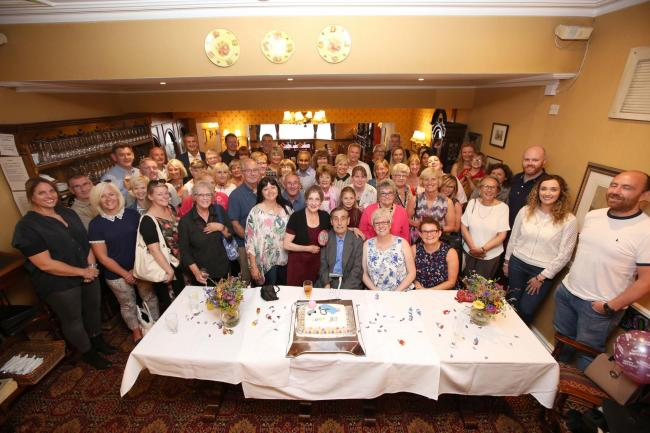 PARTY Friends Gather To Celebrate Firness Fanatic Jean Coulsons 80th Birthday